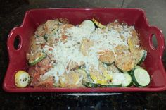 Easy zucchini cheese bake at Dining with a Dinergirl: Why Dinergirl?