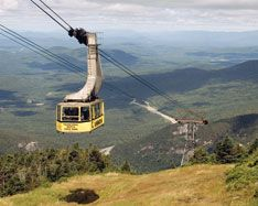 Cannon Mountain Aerial Tramway in Franconia Notch whisks you above timberline to the 4,100-foot summit for outstanding views of the White Mountains and into Maine, Vermont and even Canada. Take as little as an hour or as long as a day to enjoy summit walking paths.