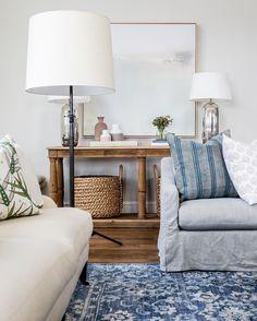 Grays and blues || SHOP: mcgeeandco.com