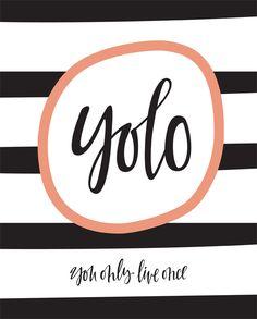 Yolo Print - Baba Souk
