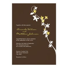 Discount DealsBrown and Yellow Wedding Invitationsonline after you search a lot for where to buy