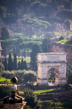 Arch of Titus, Rome. ** Beautiful. I spent many hours wandering around the ruins in Rome and admiring the architecture and the beauty of this ancient city.