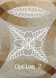 """Want to make lovely feather motifs like this one? I decided to write a simple """"how-to"""" for quilting basic feather types. This post is also for the students in my class yesterday who h…"""