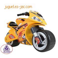 Moto correpasillos grande de Injusa para niños a partir de 3 años.