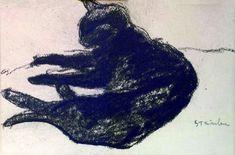 Black Cat - Steinlen Theophile