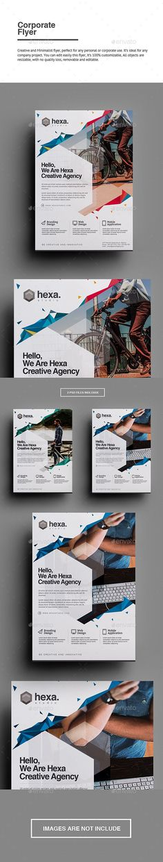 Corporate Flyer | Flyer template, Template and Layouts