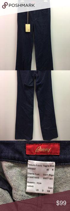 Brioni jeans HUGE Discount Retail Price!!! Authentic Brioni Brand New // Cotton Brioni Jeans Boot Cut