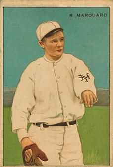 1912 Series of Champions T227 #4 Rube Marquard Front