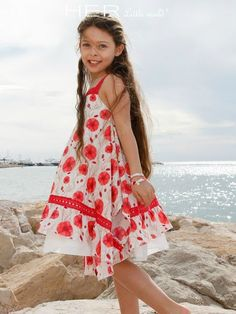 prodigieuse #dress #sewing #pattern from Her Little World France