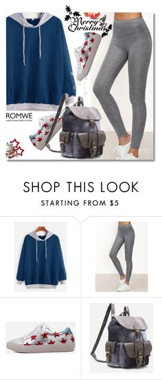 """""""Leggings & Sweatshirt"""" by andrea2andare ❤ liked on Polyvore"""