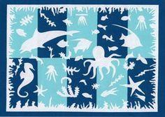 Kreslení s nůžkami ve stylu Henriho Matisse
