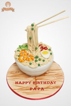 Noodles / Ramen Cake - Cake by The Sweetery - by Diana