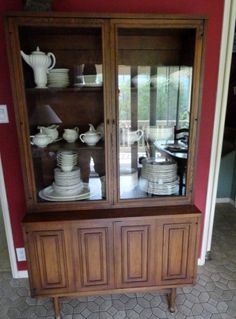 Mid century display for sale by Crown City Antiques and Estate Sales near La Crescenta, Montrose, La Canada, Pasadena and Glendale