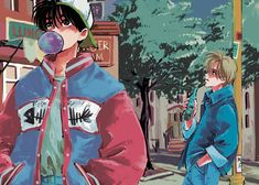 Manga Anime, Anime Guys, Banana Art, Fanart, Animal Crossing Villagers, Fish Art, Animation Film, Doujinshi, Ships