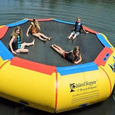 17' Bounce & Splash Springless Water Bouncer. Shop now - Free Shipping!