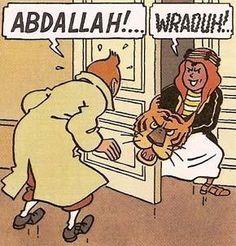 Abdallah!! (That brat!)