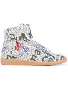 MAISON MARGIELA Future hi-top sneakers. #maisonmargiela #shoes #sneakers