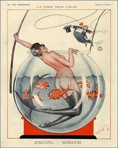 Vald'Es : Illustration for La Vie Parisienne,