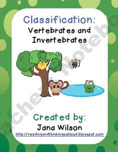 Vertebrates & Invertebrates Charts: Photographic Charts for ...