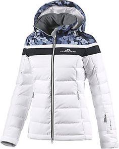e4468541b1ae3 J.Lindeberg Crillon Skijacke Damen weiß bunt im Online Shop von SportScheck  kaufen