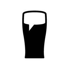 Promotion Graphic (Beer Talk) Art/Design: Taber Calderon Beer Poster, Logo Design, Graphic Design, Negative Space, Promotion, Logos, Creative, Art, Art Background