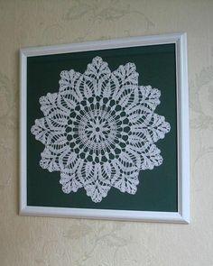 ideias de decoração barata para você fazer sozinho na sua casa sem gastar muito. Crochet Wall Art, Crochet Pillow, Crochet Home, Crochet Mandala, Crochet Motif, Crochet Doilies, Crochet Patterns Free Women, Doily Patterns, Diy Wall Art