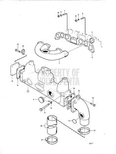 9 best volvo penta images volvo engineering boating Volvo Penta Starter Wiring exploded view schematic exploded view volvo