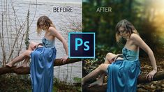 Photoshop cc Tutorial: HOW TO Make Shitty Photo to Amazing Photo in Phot...