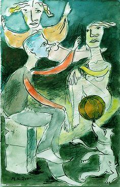 """""""στα παρασκηνια"""" ηρεμη συζητηση ενω καποιος πετα.. Accounting, Painting, Art, Art Background, Painting Art, Kunst, Paintings, Performing Arts, Painted Canvas"""