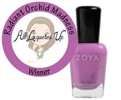 The Votes Are In. The Best Radiant Orchid Nail Polish Is…Zoya Perrie #radiantorchid See more Radiant Orchid shades from Zoya here... http://www.zoya.com/content/Search/?Description=radiant+orchid