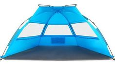 Tagvo Pop Up Beach Tent Sun Shelter Easy Set Up Tear Down, Fiberglass Frame Lightweight Compact Instant Beach Canopy, UPF 50 Sun Protection 3 Zipper Screen Windows Ventilation Easy Up Sun Shade >>> You can find more details by visiting the image link. Metal Canopy Bed, Canopy Bedroom, Steel Canopy, Door Canopy, Fabric Canopy, Canopy Tent, Tents, Office Canopy