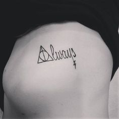 Harry potter always tattoo There are many examples of how the spirit of Harry Potter has been captured in the body of a man and a woman. Here are the best Harry potter tattoos that any Harry fans will recognize: Et Tattoo, Piercing Tattoo, Tattoo You, Tattoo Quotes, Harry Potter Tattoos, Always Harry Potter Tattoo, Body Art Tattoos, Small Tattoos, Tatoos