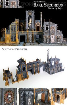 Cities Of Death, Fortress Of Redemption, Terrain - Baal Secundus - Southern Perimeter (WIP) - Gallery - DakkaDakka | Insert witty quote here.