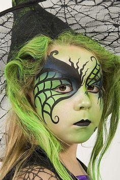 Kids #Halloween face paint ideas! #Snazaroo #facepaint