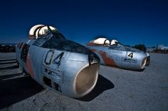 Urban GhostsUrban Explorer Documents an Abandoned Aviation Boneyard in the US Desert - Urban Ghosts