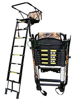 GDK Teleskop hoher Sitz, 2,5 m, Jagd, stalking Leiter