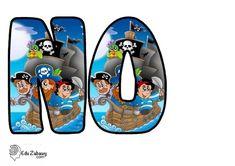 Piraci: Okrągłe litery i cyfry Dzień postaci z bajek Litery i cyfry do tworzenia napisów Piraci Postacie Accessories, Lyrics, Jewelry Accessories