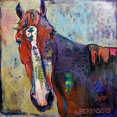 """Gentle Skeptic"" Laura Berendsen Hughes painting featured in Hillsborough Art Gallery's newest exhibition"