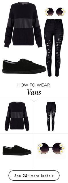 """Untitled #121"" by simplyfashion121 on Polyvore featuring Lot78, Vans, women's clothing, women, female, woman, misses and juniors"