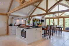 Harkin – Large oak frame extension | Welsh Oak Frame