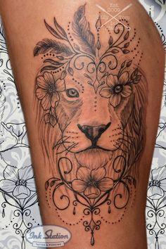 Lion Head Tattoos, Tiny Heart Tattoos, Forarm Tattoos, Mom Tattoos, Body Art Tattoos, Cuticle Tattoos, Elephant Tattoos, Tribal Elephant, Animal Tattoos