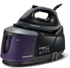 From 130.00:Morphy Richards 332000 Power Steam Elite Steam Generator With Auto Clean And Safety Lock - Purple/black