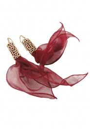 Laura Volpi Earrings Aria with Silk
