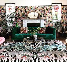 Chinoiserie, Maximalist Interior, Hand Tufted Rugs, Rugs In Living Room, Room Decor, Interior Design, Maximalism, Leopard Rug, Zebra Decor