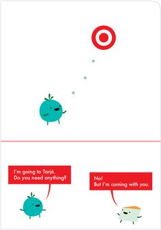 The card is perfect...and what happens every time I go to Target...