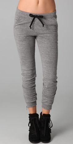 sweat pant swagg. With my butt i could never pull them off but they cute