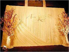 bne wedding design  closer  tender  wonder: Wedding backdrop
