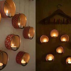Tin can lights