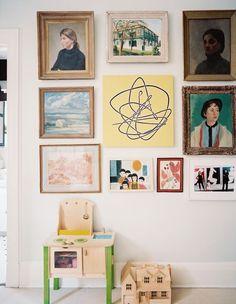room photos of - lonny kids room design, kid spaces, l Feng Shui, Kids Room Design, Deco Design, Woman Painting, Kid Spaces, Kids Furniture, Furniture Decor, Illustrations, Interior Inspiration