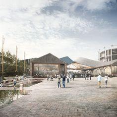 Forbes Massie / 3D Visualisation Studio / London - Work - Heatherwick / CoalDrops